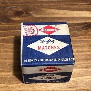 Other - Vintage Diamond Safety Matches